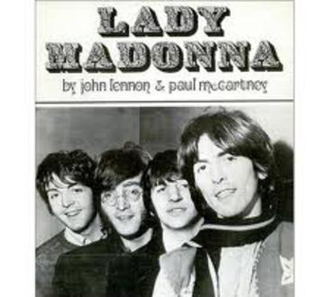 Lady Madonna Beatles